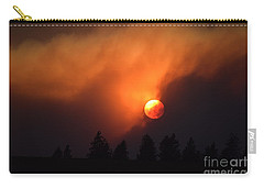 Sunset Through Smoke Carry-all Pouch