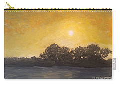 Sunset Through The Fog Carry-all Pouch