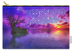 Sunset Tribute To Van Gogh Carry-all Pouch