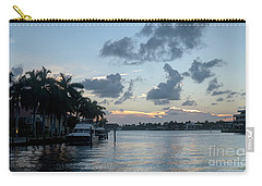 Sunset Tropical Canal Carry-all Pouch