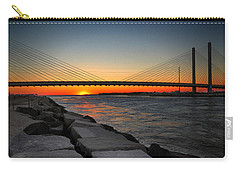 Sunset Under The Indian River Inlet Bridge Carry-all Pouch