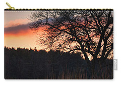 Sunset - Uw Arboretum - Madison - Wisconsin Carry-all Pouch