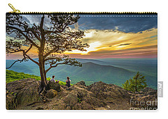 Sunset View At Ravens Roost Carry-all Pouch