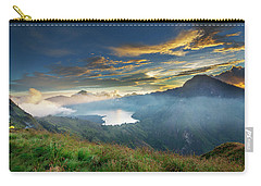 Sunset View From Mt Rinjani Crater Carry-all Pouch