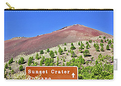 Sunset Crater Volcano Carry-all Pouch