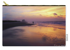 Sunset Walk On Myrtle Beach Carry-all Pouch
