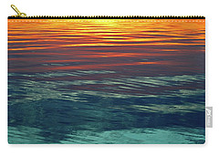 Sunset Water  Carry-all Pouch