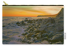 Sunset Waves Carry-all Pouch by Todd Breitling