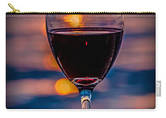 Sunset Wine Carry-all Pouch