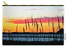 Sunsets Colors Carry-all Pouch by Elsa Marie Santoro