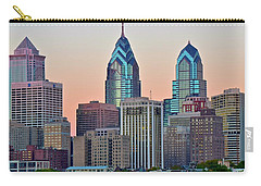 Sunsets Glow In Philly Carry-all Pouch