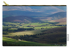 Sunshine And Shadow - Braes Of Glenlivet Carry-all Pouch