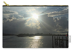 Sunshine Bursting Through The Clouds Carry-all Pouch