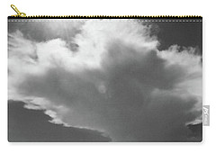 Sunshine, Clouds And The Bay In Bw Carry-all Pouch