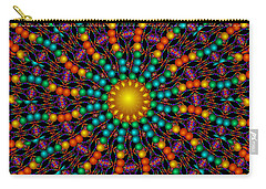Carry-all Pouch featuring the digital art Sunshine Daydream by Robert Orinski