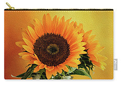 Sunshine In A Vase Carry-all Pouch by Diane Schuster