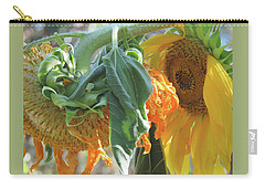 Sunshine In The Garden - Ageless Beauty 5 Carry-all Pouch