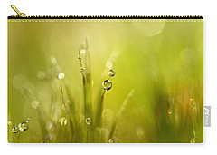 Sunshine Moss Carry-all Pouch