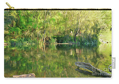 Carry-all Pouch featuring the photograph Sunshine On Nature By Kaye Menner by Kaye Menner