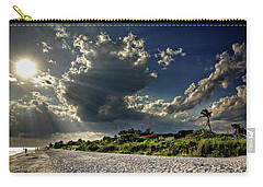 Sunshine On Sanibel Island Carry-all Pouch by Chrystal Mimbs