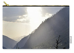Sunshine On The Village Carry-all Pouch by Sumit Mehndiratta