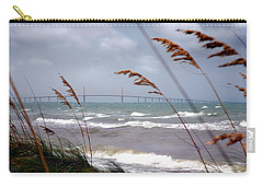 Sunshine Skyway Bridge Viewed From Fort De Soto Park Carry-all Pouch