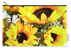 Sunshine Sunflowers Carry-all Pouch