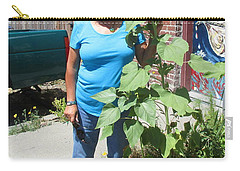Sunshiny Hello From Marie Carry-all Pouch