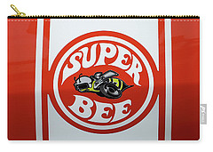 Carry-all Pouch featuring the photograph Super Bee Emblem by Mike McGlothlen