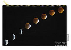 Super Blood Moon Time Lapse Carry-all Pouch