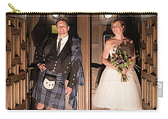 Super Hero Wedding Pose Carry-all Pouch