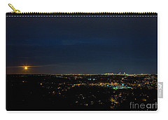 Super Moon 2016 Rises Over Boston Massachusetts Carry-all Pouch by Diane Diederich