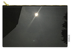 Carry-all Pouch featuring the photograph Super Moon 3 by Karen Nicholson