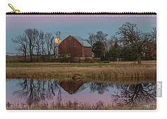 Super Moon And Barn Series #1 Carry-all Pouch