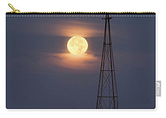 Super Moon And Windmill Carry-all Pouch