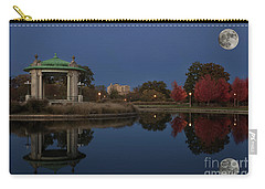 Carry-all Pouch featuring the photograph Super Moon by Andrea Silies