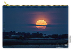 Carry-all Pouch featuring the photograph Super Moon by Arik Baltinester