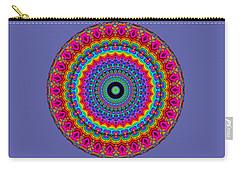 Super Rainbow Mandala Carry-all Pouch
