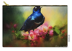 Superb Starling Carry-all Pouch by Suzanne Handel