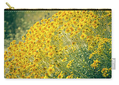 Superbloom Golden Yellow Carry-all Pouch