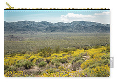 Superbloom Paradise Carry-all Pouch by Amyn Nasser