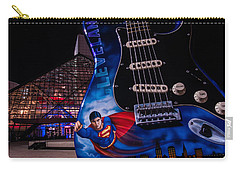 Superman Rocks Carry-all Pouch