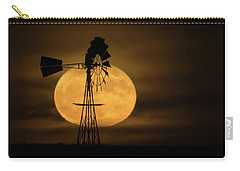 Supermoon Rise 4  11-14-2016 Carry-all Pouch