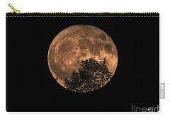 Supermoon Rising Carry-all Pouch by Alana Ranney