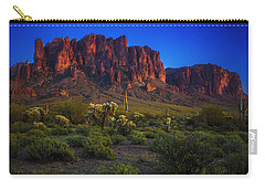 Superstition Mountain Sunset Carry-all Pouch