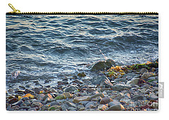 Surf And Rocks Carry-all Pouch