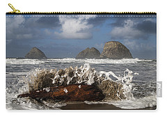 Surf And Three Arch Rocks Carry-all Pouch