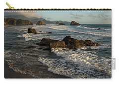 Surf At Crescent Beach Carry-all Pouch