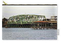 Surf City Swing Bridge Carry-all Pouch by Cynthia Guinn