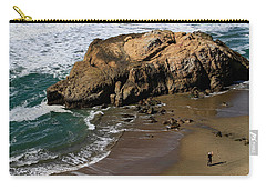 Surf Fishing At Ocean Beach Carry-all Pouch